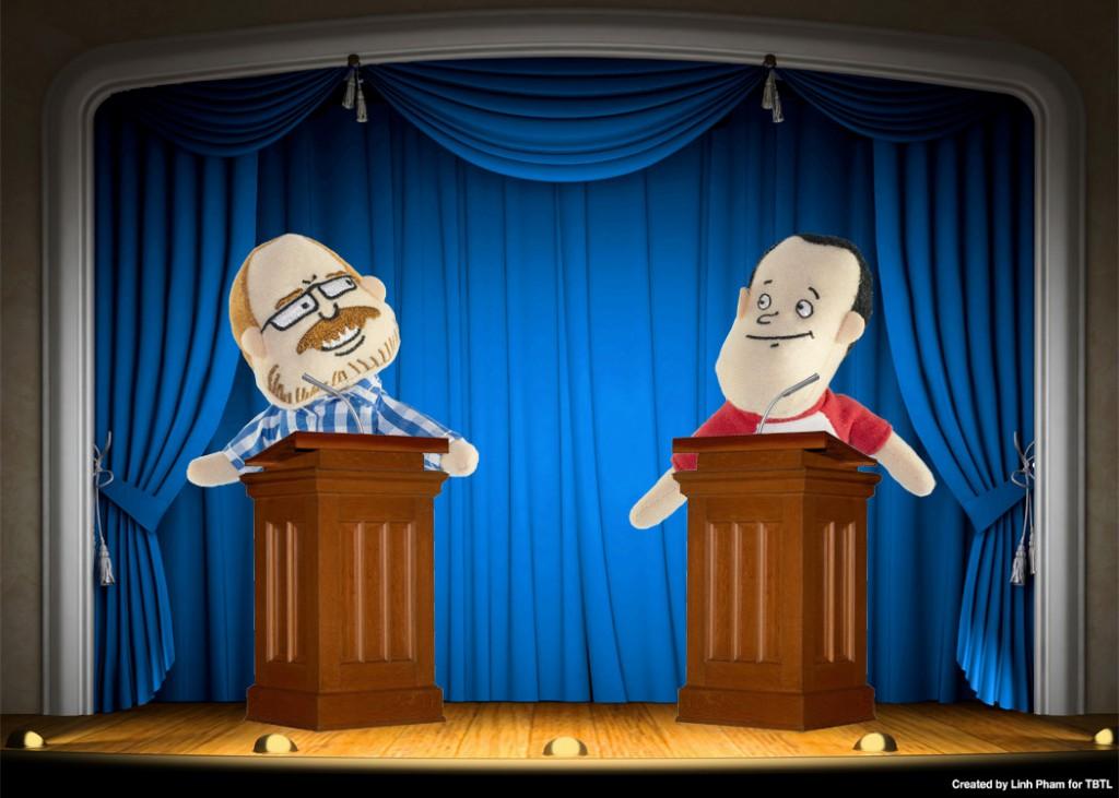 Johnny and Bobo Debate